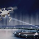 Технология зарядки беспилотников в воздухе при помощи лазера